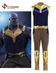 Avengers 3 Infinity War Thanos Mask Cosplay Props