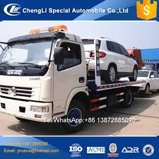 100 Self Loader Tow Truck Light Duty Dongfeng New 3 Ton 4 Ton S For Sale