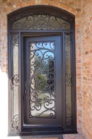 Woodgrain Wrought Iron Front Door With 2 Side Lites Installed In ... The 25 Best Front Elevation Ideas On Pinterest House Main Door Grill Designs For Flats Double Design Metal Elevation Two Balcony Iron Gate Wall Simple Drhouse Emejing Home Pictures Amazing Steel Porch Glamorous Front Porch Gates Photos Indian Youtube Best Ideas Latest Ipirations Grilled Grille Malaysia Windows 2017 Also Modern Gate Pinteres