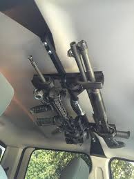 100 Gun Racks For Trucks Overhead Gun Storage Rack For Pickup Trucks AR15COM