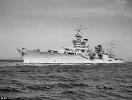 Uss America Sinking Location by Survivors Of 1945 Sinking Of The Uss Indianapolis Describe