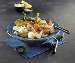 plat de poisson pot au feu de la mer