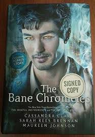 9781481438834 The Bane Chronicles Signed Copy