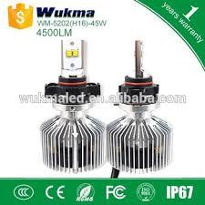5202 h6 9009 led bulb 45w p hilips 4500 lumens car headlight