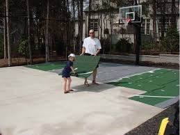 Pin By Jenny Chang On [backyard Basketball Court] | Pinterest ... Amazing Ideas Outdoor Basketball Court Cost Best 1000 Images About Interior Exciting Backyard Courts And Home Sport X Waiting For The Kids To Get Gyms Inexpensive Sketball Court Flooring Backyards Appealing 141 Building A Design Lover 8 Best Back Yard Ideas Images On Pinterest Sports Dimeions And Of House