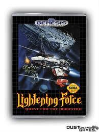 Lightening Force GEN Genesis Game Case Box Cover Brand New ...