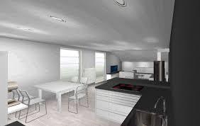 komplett neuer wohn essbereich mit offener küche auf 42 m2