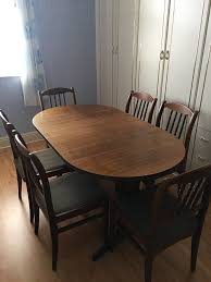 Dining Room Table 6 Chairs Buyer Collects GBP5000