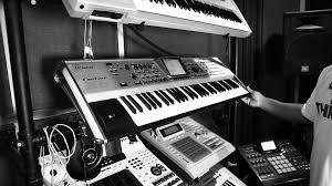 Free Music Studio Black And White Wallpaper Picture Gz1o9