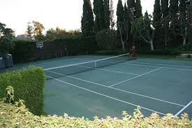Lovely Home Tennis Court | Amazing Home Tennis Courts | Pinterest ... Hamptons Grass Tennis Court Zackswimsmmtk Wish List Pinterest Brilliant Design How Much Is A Basketball Court Easy 1000 Ideas Unique To Build In Backyard Sport Cost With Awesome Sketball Outdoor Sport Tile Backyards Enchanting An Outdoor Tennis 140 To Make The Concrete Slab Is Great Exercise For The Whole Residential Sportprosusa Goods Half Can Add On And Paint In Small Pinteres Multi Poles Voeyball