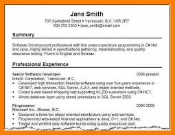 10 Resume Summary Examples