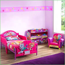 Paw Patrol Room Decor Best Bedroom Ideas Chase Toddler Bed With