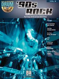 Rocket Smashing Pumpkins Bass Tab by Hal Leonard U002790s Rock Drum Play Along Volume 6 Drum Set Book