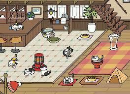 Neko Atsume Cafe Style