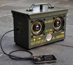How To Make A DIY Surplus Ammo Can Speaker Box