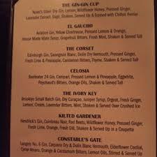 photos for bathtub gin menu yelp