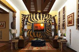 exotic trends in home decorating bring animal prints into modern