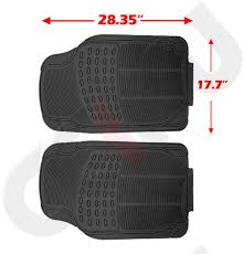 Cciyu Set Of 4 PCS Heavy Duty Rubber Floor Mats Fit SUV Truck Car ... Customfit Faux Leather Car Floor Mats For Toyota Corolla 32019 All Weather Heavy Duty Rubber 3 Piece Black Somersets Top Truck Accsories Provider Gives Reasons You Need Oxgord Eagle Peterbilt Merchandise Trucks Front Set Regular Quad Cab Models W Full Bestfh Tan Seat Covers With Mat Combo Weathershield Hd Trunk Cargo Liner Auto Beige Amazoncom Universal Fit Frontrear 4piece Ridged Michelin Edgeliner 4 Youtube 02 Ford Expeditionf 1 50 Husky Liners