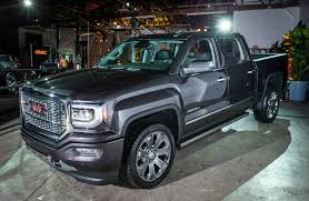 2016 GMC Sierra Denali Gets Upmarket Ultimate Trim New 2018 Gmc Sierra 1500 Denali Crew Cab Pickup 3g18303 Ken Garff In North Riverside Nextgeneration 2019 Release Date Announced Trucks Seven Cool Things To Know Drops With A Splitfolding Tailgate First Review Kelley Blue Book Trucks Suvs Crossovers Vans Lineup Fremont 2g18657 Sid 2017 2500hd Diesel 7 Things Know The Drive Vs Differences Luxury Vehicles And