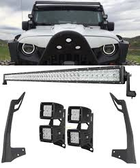 JK LIGHT BARS – Offroad Auto Parts Solicht 8 40w Led Bar Lights Lightbar 12v24v 10w Offroad Off Safego 4 Inch 18w Led Work Light Offroad Flood 4x4 4wd Car For 2x 50 Ledbar 288w Curved Spot Off Road 12v Led Bars Zroadz Z344813kit Jeep Wrangler Jk Hood Hinge Mounting Bracket 2018 Hot Sale 4x4 Accsories 932v Truck Atv Bars Canton Akron Ohio Road 215 120w 9 32v Dual Row Waterproof The Best Your Atv Utv And Dirt Bike Blazer Intertional With And Beam Lamphus Maverix Journey Of Lighting Attractive Design