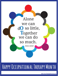 Happy Occupational Therapy Month Free Posters to Print Your