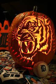 Best Pumpkin Carving Ideas Ever by 37 Best Halloween Tiger Pumpkins Images On Pinterest Pumpkin