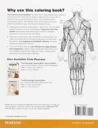 Human Anatomy And Physiology Coloring Book With Courses Of
