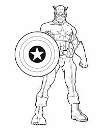 Avengers Coloring Pages Free Captain Age Of Ultron Hulkbuster America Pdf Full Size