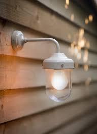 clay barn light is a stylish durable outdoor garden wall light