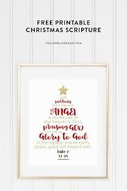 Rice Krispie Christmas Trees Uk by Christmas Tree Scripture Printable Yellow Bliss Road