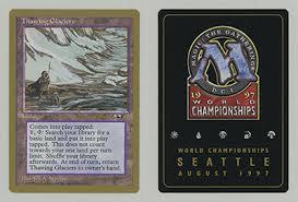 mtg world chionship decks 1997 thawing glaciers magic card