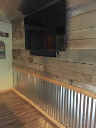 Barnwood And Tin Wall Http://www.mancavegenius.org/ | Western ... Barnwood And Tin Wall Httpwwwmancavegeniusorg Western Renovating Your Garage With Our Paneling Ideas For Remodelling Barn Wood Inspiring Interior Design Woodhaven Log Lumber Lake Elmo Basement Finish Jg Hause Cstruction Redo Redux Revisiting Past Projects Rustic Reveal Bright By Martinec This Basement Wet Bar Was Custom Built On Site Is Covering Walls Pallet Wood The Bathroom Renovation Kitchen Room Awesome Second Hand Home Bars Sale Creative For Ideasbath Shelf With Custom Cabinets Closet Systems Woodwork