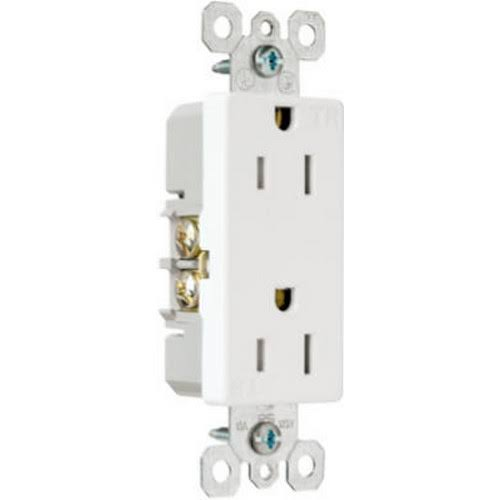Pass Seymour Receptacle - 15A, White
