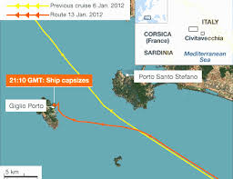 Where Did The Lusitania Sink Map by Raising Of The Costa Concordia Marine Salvage Operations Italy