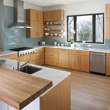 kitchen cabinet mid century modern wood floor colors how to mid