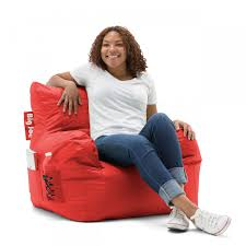 Red Big Joe Dorm Bean Bag Chair Bedroom Game Sports Room ... Bean Bag Factory Soccer Chair Cover Stuffed Animal Storage Seat Plush Toys Home Organizer Beanbag Amazoncom Ball Sports Kitchen Kids Comfort Cubed Teen Adult Ultra Snug Fresco Misc Blue Gold Nfl Los Angeles Rams Pretty Elementary Age Little Girl On Sports Day Balancing Cotton Evolve Faux Suede Gax Sport Large Small Classic Chairs Sofa Snuggle Outdoor And Indoor Big Joe In Sportsball