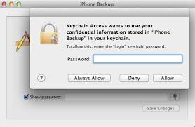 Free Mac Backup Unlocker for iPhone 5 4S 4 3GS