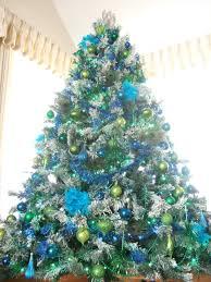 Seashell Christmas Tree by Closeup Tree Peacock Christmas Blue Green Peacock Christmas