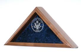 Navy Flag Display Case US Cases