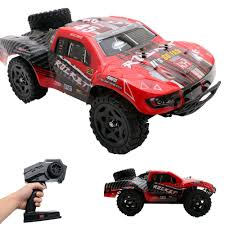 REMO 1/16 RC Truck 4WD High Speed Off-road 2.4Ghz RC Car Short ...