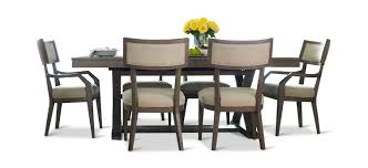 Highline Trestle Table With 4 Klismo Dining Chairs And 2 Arm