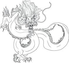 Coloring Pages Chinese New Year Dragon Coloring Page Chinese