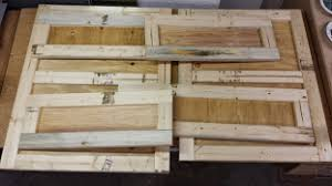 The Panels And Rails For Wood Crate Were Cut From 3 8 Plywood 1X Dimensional Lumber