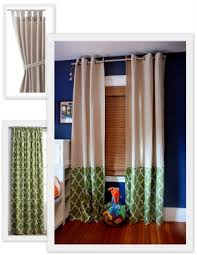 Navy And White Vertical Striped Curtains by Wide Stripe Curtains Foter
