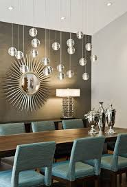 modern dining room with pops of teal esszimmer modern
