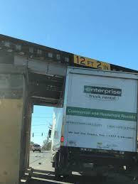 100 Enterprise Rent Truck Al Truck Stuck Under Columbia SCs Whaley Street Bridge The State