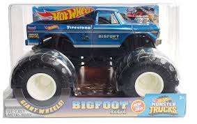 100 Bigfoot Monster Truck Toys Amazoncom HOT Wheels 4X4 S 124 Scale