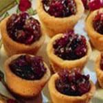 Cranberry Spiced Mini Tarts Recipe