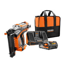 18 Gauge Floor Nailer Home Depot by Cordless Electric Brad Nailers Nail Guns U0026 Pneumatic Staple