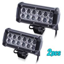2 X 36W CREE LED Work Light Bar Offroad Spot Beam For Truck SUV Boat ... 12v 18w 6led Waterproof Led Headlights Flood Work Light Motorcycle 4pcs 4inch Work Light Bar Driving Flood Beam Suv Atv Jeep New 4inch 57w Lights Offroad Led Bar Trucks Boat 4x4 4wd Atv Uaz Suv Driving 2pcs 18w Flood Beam Led Work Light 12v 24v Offroad Fog Lamp Trucks Truck Lite Spot With Ingrated Mount 81711 Trucklite 50 Inch 250w Spotflood Combo 21400 Lumens Cree Signalstat Stud Mount Oval Lot Two Mini 27w 9 Worklights Fog For Tractor Xrll 27w Forklift Square Cube Pods Flush